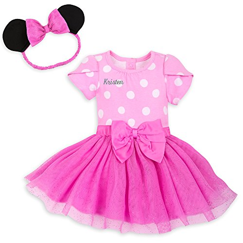 Disney Minnie Mouse Costume Bodysuit for Baby - Pink - Size 18-24 MO Multi -