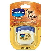 Vaseline Lip Therapy Creme Brulee 0.25oz Jar (8 Pieces) Disply