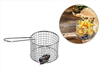 Chip Servieren Korb Set von 4/Frites Lebensmittel Servieren Mini Chip Eimer Fritteuse Chip Pfanne ideal f/ür Pommes Frites Pommes Frites KArtoffelecken Zwiebel Ringe /& Essen Pr/äsentation