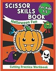 Scissor Skills Book for Kids: Halloween Fun Cutting Practice Workbook