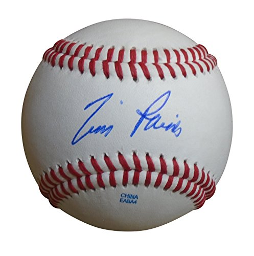 Chicago White Sox Tim Raines Autographed Hand Signed Baseball with Proof Photo, New York Yankees, Montreal Expos, Oakland Athletics, (Sox Mlb Authenticated Game)