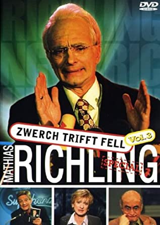 dvd von Mathias Richling - Zwerch trifft Fell 3