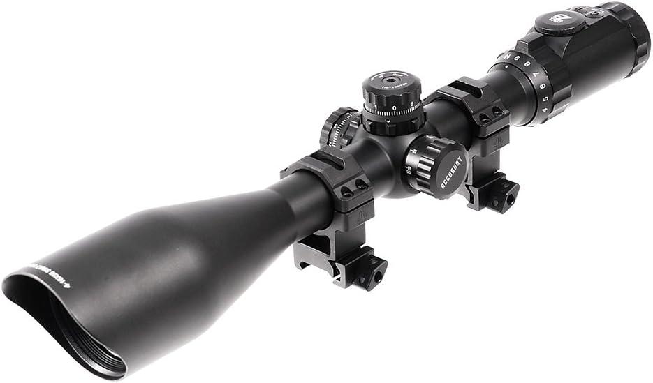 UTG 4-16X56 30mm Scope, AO, 36-color Glass Mil-dot, w Rings