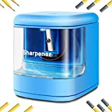 SENHAI Electric Pencil Sharpener,USB Charge Drive or Battery-powered Automatic Sharpener for Home Office or School