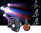 Chauvet DJ CIRCUS 2.0 IRC LED RGBWA Beam & Strobe Effect Light + Speaker!