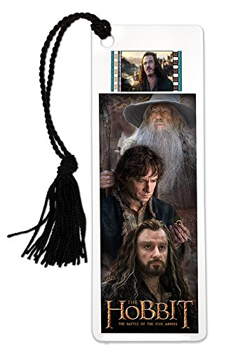 Trilogy Film Cell - The Hobbit: Battle of the Five Armies (Trilogy) Film Cell Bookmark