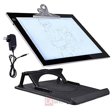 "Adjustable Brightness LED Art Stencil Tracing Light Pad Board (14"" Inch)"