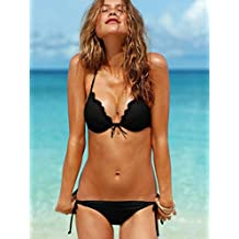 GW Victoria's Secret swimsuit with section line strip Toby Gini gather steel Toby Gini wavy edge