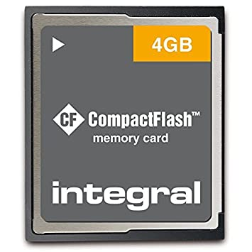 Integral 4GB Compact Flash Card - Tarjeta de Memoria (0-60 ...