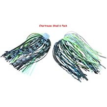 84 Strand Quick Change Jig Skirt or Spinnerbait Skirt 6 Pack, Sexy up your lure, dress it in this Skirt! Proven Colors That Work.