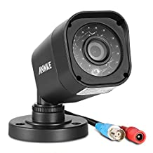 ANNKE 720P HD-TVI Security Camera 1280TVL 1.0MP Hi-Resolution Bullet Camera with Long Distance Night Vision, Vandal & Weather-Proof(Only work perfectly with HD-TVI DVR systems)