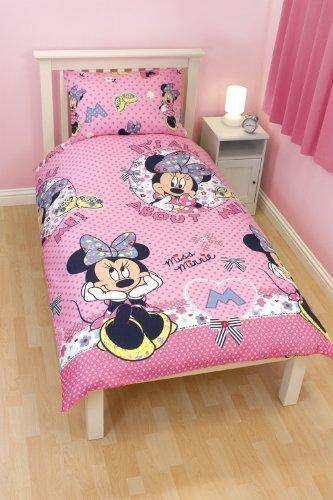 bettw sche 100 135 minnie mouse my blog. Black Bedroom Furniture Sets. Home Design Ideas