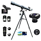 Cassini 900mm x 80mm EQ3 Mount Refractor Telescope with Digital Camera Eyepiece