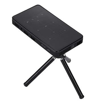 ASHATA Mini Proyector de Bolsillo 2.4G WiFi Inalámbrico,HD ...