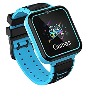Kids Smart Watch, Smart Watch for Kids with Phone Call Games Music Player SOS Calculator Recorder Alarm Clock [1 GB…
