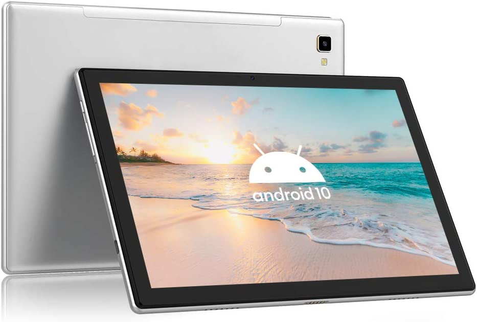 Blackview Tab8 Tablet 10.1 Pulgadas Android 10 4G LTE 5G WIFI, 4GB RAM+64GB ROM (TF 128GB), Octa-Core, Batería 6580mAh, Tableta con Cámara 13MP+5MP, 1920*1200, Dual SIM/Face ID/GPS/OTG/Bluetooth-Gris
