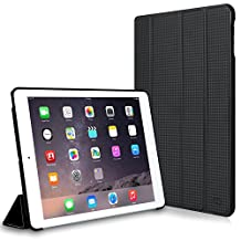 CaseCrown Omni Case (Carbon Fiber Black) for Apple iPad Air 2 with Multi-Angle Viewing Stand (Built-in magnetic for sleep / wake feature)