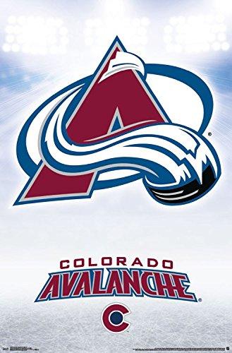 Trends International Wall Poster Colorado Avalanche Logo, 22.375