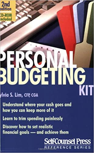 personal budgeting kit reference series sylvia lim 0069635806548