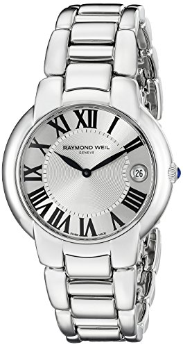 Raymond-Weil-Womens-5235-ST-00659-Jasmine-Silver-Tone-Stainless-Steel-Watch