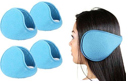 GPCT–Set di 2paraorecchie ultra-chauds e confortevoli eccellente accessorio per l' inverno MM Electronics