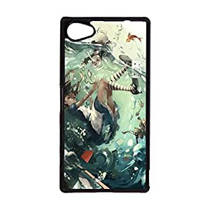 Sony Xperia Z5 Compact Phone Case Exquisite Phone Shell Cover Alice In Wonderland Quotes Exquisite Style Cover for Sony Xperia Z5 Compact Disney Cartoon Alice In Wonderland