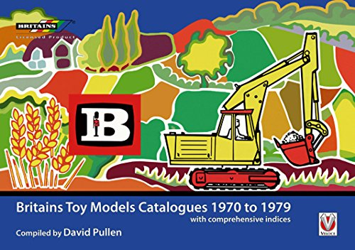 Britains Toy Model Catalogues 1970 to 1979