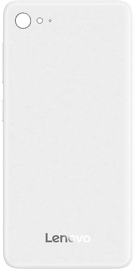 Red Qube Rear Glass Battery Back Cover for Lenovo Z2 Plus  White  Mobile Phone Batteries