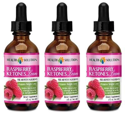 Raspberry drops - RASPBERRY KETONES LEAN 160MG - suppress the appetite (3 Bottles)