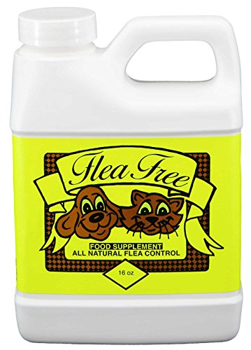 Flea-Free Pure Organic Food Supplement and Natural Pet Products , 16 Ounce