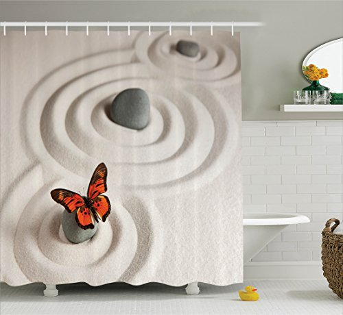 Ambesonne Butterflies Decoration Meditation Accessories