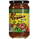 Simply Natural Organic Salsa, Chunky-Mild, 470 ml