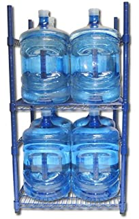 Zephyr Fluid Solutions 5 Gallon Water Bottle Storage Rack With 8 Bottle  Capacity