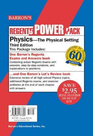 Physics Regents Power Pack (Regents Power Packs)