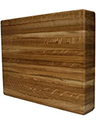 Kobi Blocks White Oak Edge Grain Butcher Block Wood Cutting Board 18 X 32 X 2