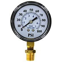 Flotec TC2104-P2 Well Pump Pressure Gauge
