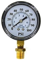 Brands2O TC2104-P2 Well Pump Pressure Ga...