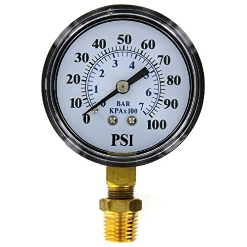 Pressure gauges amazon brands2o tc2104 p2 well pump pressure gauge altavistaventures Gallery