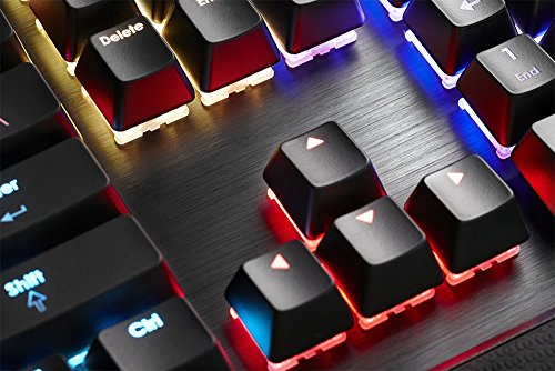 95010bb6225 G.SKILL RIPJAWS KM780 RGB On-the-Fly Macro Mechanical Gaming Keyboard,  Cherry MX Blue