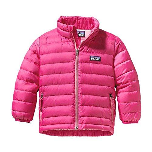 Patagonia Baby Girls' Down Sweater (Baby) - Radiant Magenta - 6 Months