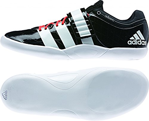 Adidas Adizero discus/hammer 2 cblack/ftwwht/solred, Größe Adidas:14