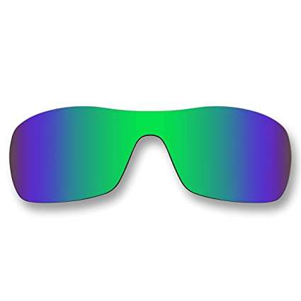 a5d7cbb4e8 Amazon.com  ACOMPATIBLE Replacement Emerald Green Polarized Lenses Oakley  Antix Sunglasses  Sports   Outdoors