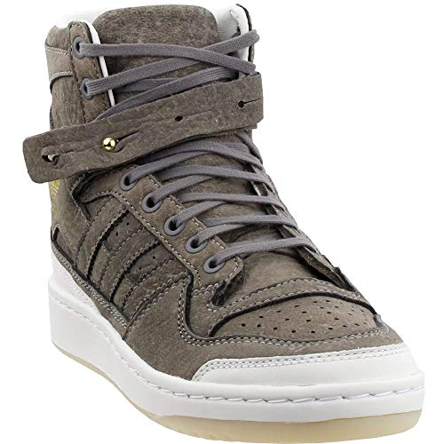 adidas Mens Forum Hi Crafted Athletic Taupe 11.5