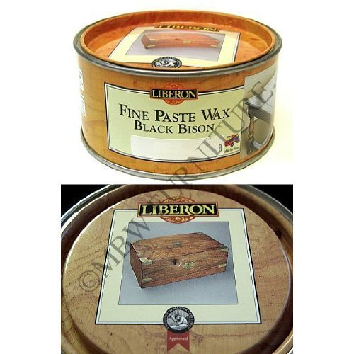 Liberon Fine Paste Wax Black Bison 500ml - Golden Pine
