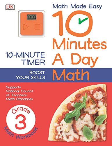 10 Minutes a Day: Math, Third Grade (Math Made Easy)