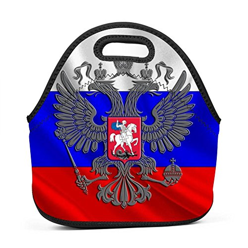 Russian Flag Russia Lunch Bag Multi-Purpose Bento Pouch, used for sale  Delivered anywhere in USA