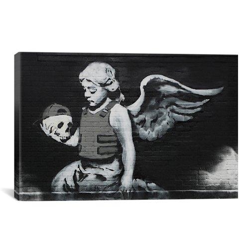 iCanvasART Ozones Banksy Canvas 26 Inch product image