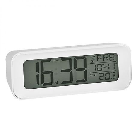 ATLANTA 1876/0 – Reloj Despertador, diseño Moderno, repetición, Esfera iluminación,