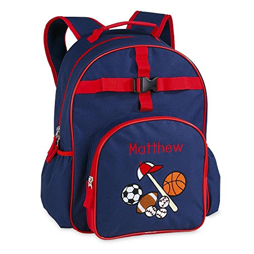 All Sports Personalized Kids Backpack by Lillian -