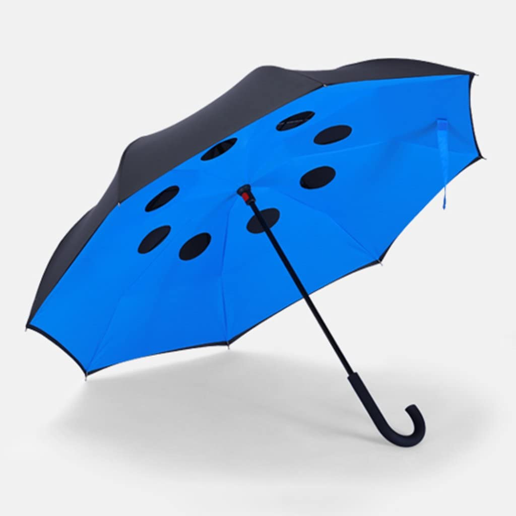 GAOYANGyusan GAOYANG Can Stand Back Umbrella Double Umbrella Reinforcement Long Umbrella Men And Women Sun Umbrella Dual-use Car Double Umbrella